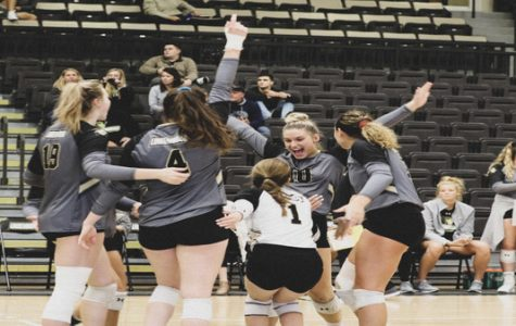 Women's volleyball sweeps season opener