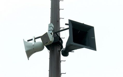 Why game day doesn't sound so good, Hunter Stadium speakers