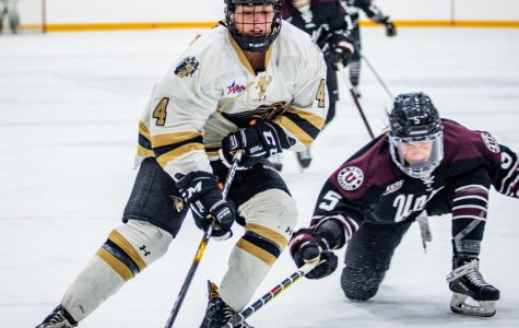 Women's ice hockey splits weekend matches with Union College