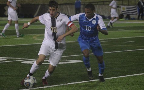 Men's soccer extends winning streak in heated match