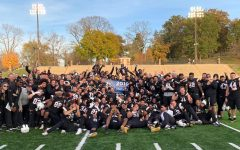 Football wins conference championship in overtime