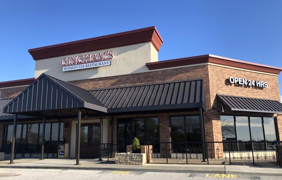 The new Gingham's location, which the restaurant moved into last month.  It was previously located less than a mile away.