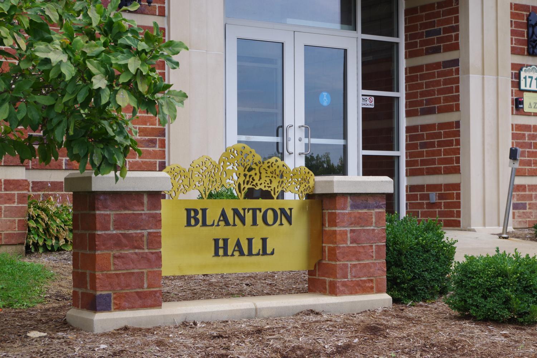 Blanton Hall is a women's dorm on campus.