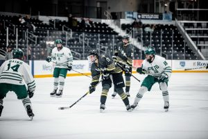The Lions outshot Ohio 49-33 on Jan. 25, 2020. Unfortunately, Lions lost 3-2 in the finale of a Central States Collegiate Hockey League.