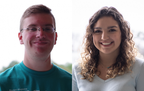 New staff members Dominic Hoscher and Alexa Pressley.   Photos by Kat Owens and James Tananan Kamnuedkhun