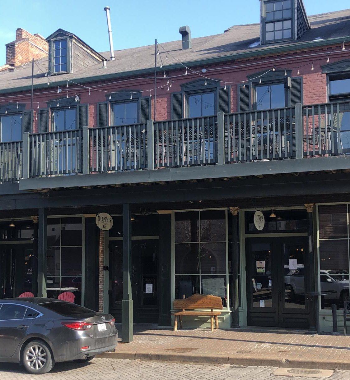 Tony's on Main, a restaurant on North Main Street.