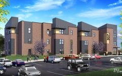 Two student apartment buildings may be finished next year