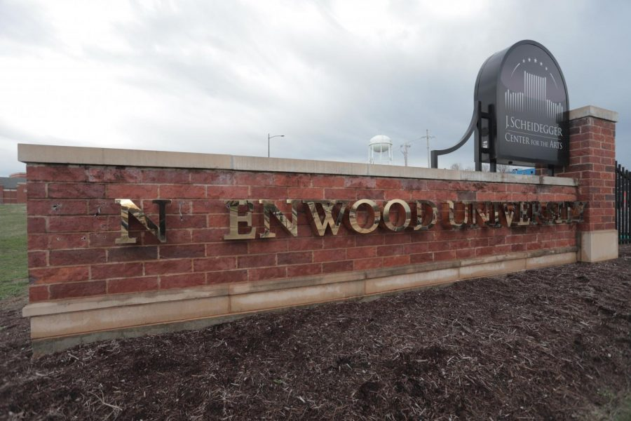 Someone is reported to have stolen letters from the Lindenwood sign at the West Clay entrance to campus.