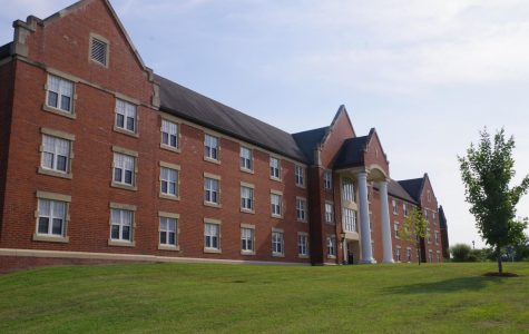 Flowers Hall, a dorm on Lindenwood's campus. <br>  File photo by Kat Owens.