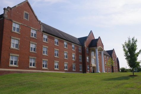 Flowers Hall, a dorm on Lindenwood