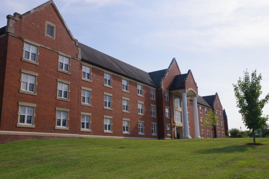 Flowers Hall, a dorm on Lindenwood's campus.   File photo by Kat Owens.