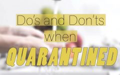What to do (and not to do) during quarantine