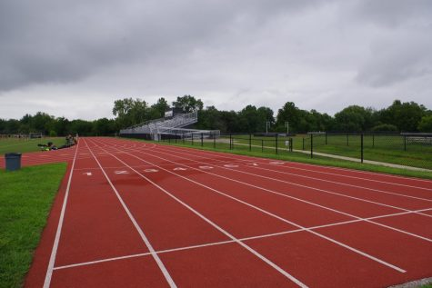 The outdoor track on Lindenwood