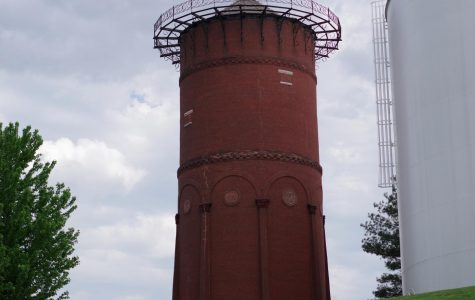 The Lindenwood water tower is considered a historic landmark of St. Charles.