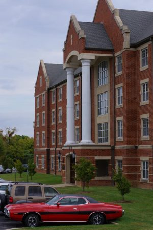 File photo of Calvert Rogers Hall.