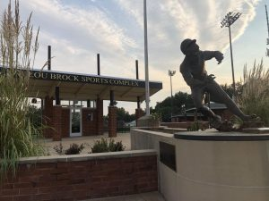 The Lou Brock Sports complex at Lindenwood University.