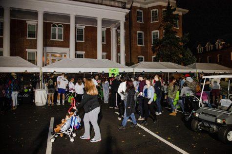 Lindenwood and St. Charles community enjoying the 2019 Dark Carnival.