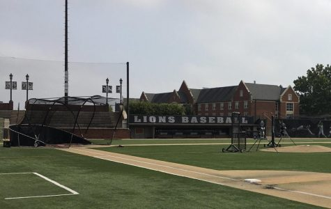 Lindenwood's baseball field at the Lou Brock Sports Complex on Sept. 9, 2020.