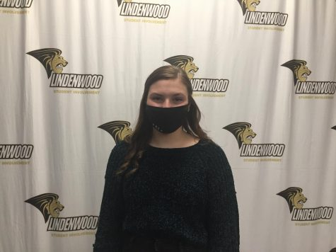 Kennedy Mann, a freshman at Lindenwood.