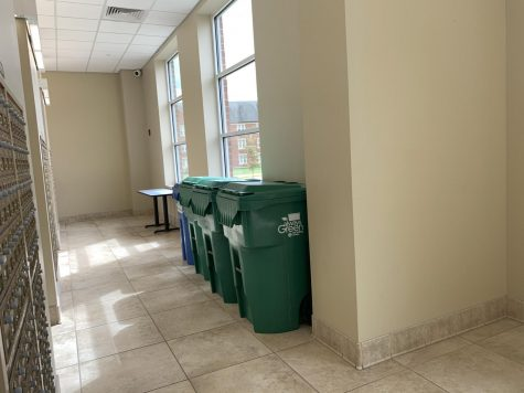 Takeout dining options increase plastic waste; recycling options on campus for students