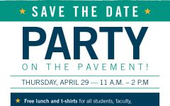 Lindenwood will be hosting Party on the Pavement on April 29 to celebrate the end of the semester.  Photo from the Office of the President.