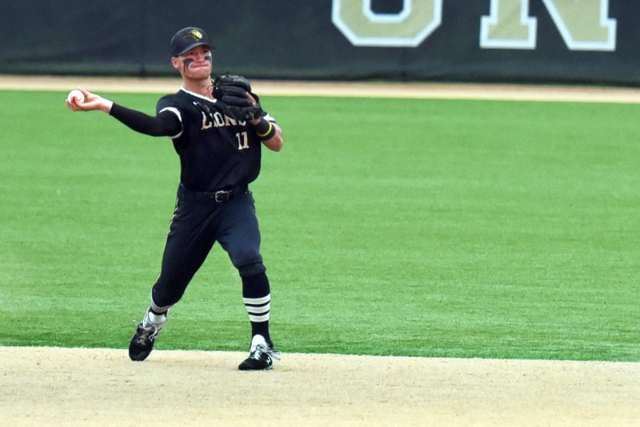 second baseman Beau Collier, Lindenwood v. Davenport