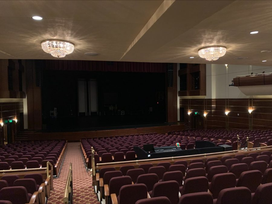 J. Scheidegger's theater sits empty on Friday, Sept. 3 ahead of future planned events.