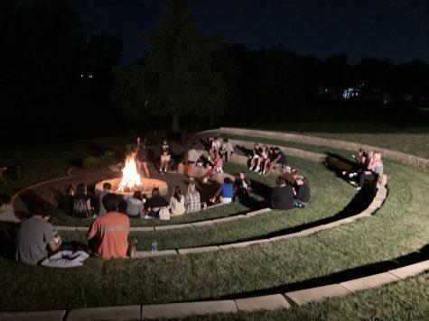 Homecoming Week: Friday night's bonfire